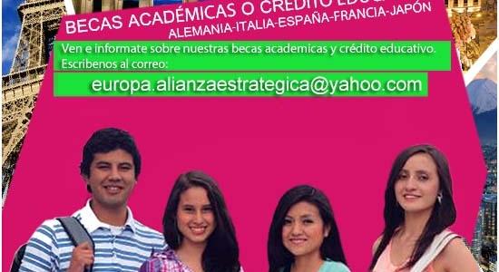 Becas Académicas y Creditos Educativos