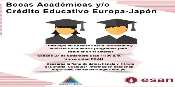 Charla Informativa: Becas Académicas y/o Crédito Educativo - Universidad ESAN